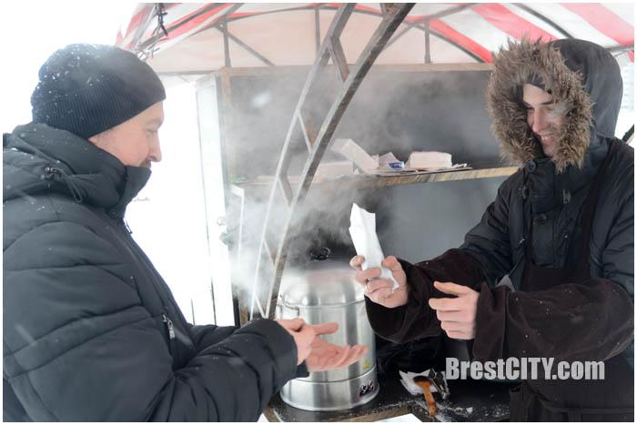 Лыжня в Бресте на Гребном 2017. Фото BrestCITY.com