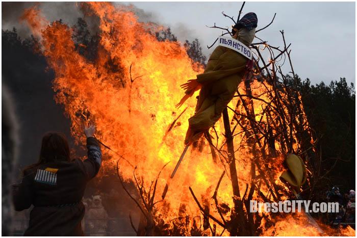Прощай, Масленица 2017 в парке-воинов интернационалистов