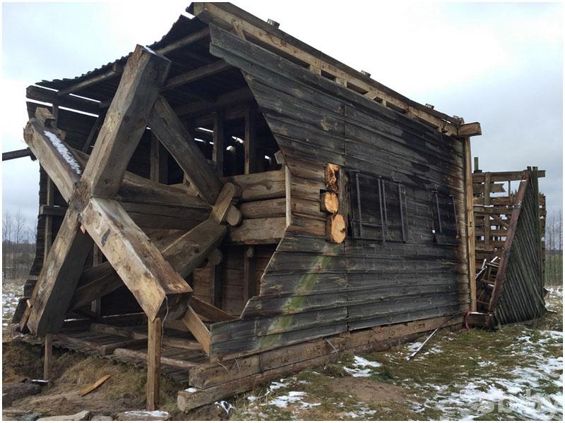 Мельница в деревне Лесники