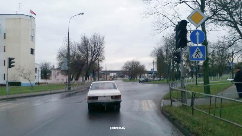 Авария в Бресте 11 ноября