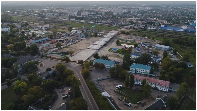 Новый мост на Зубачева в Бресте