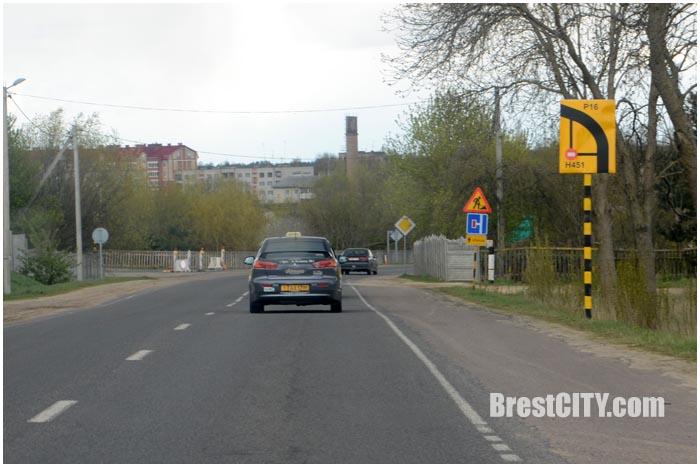 Ремонт дороги в Мотыкалах