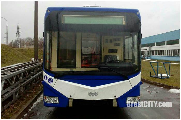 Новые троллейбусы в Бресте