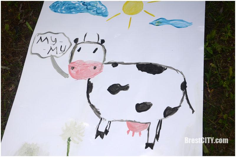 Облака молока в Бресте 2017