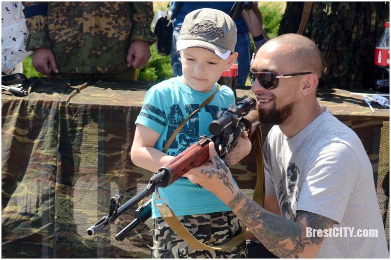День отца в Бресте 18 июня 2017. Фото BrestCITY.com
