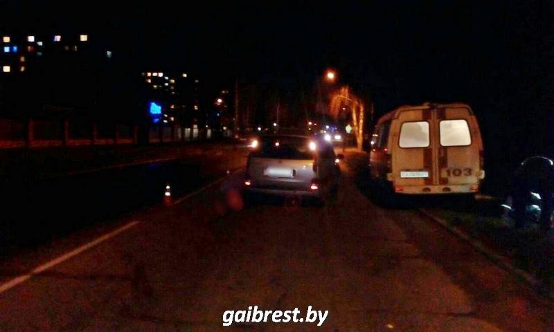 Авария в Пинске 26 декабря