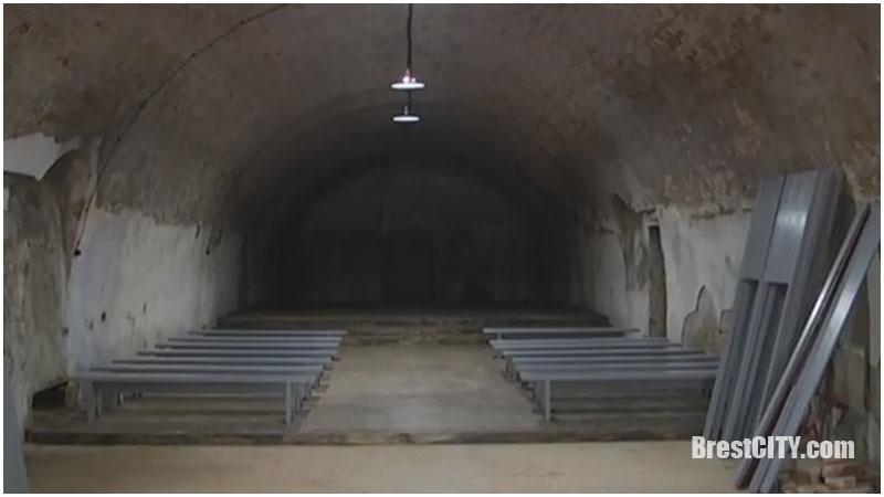 Пороховой погреб в Брестской крепости