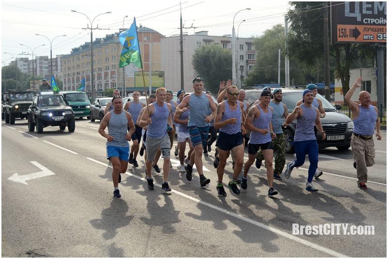 Пробег в День ВДВ в Бресте