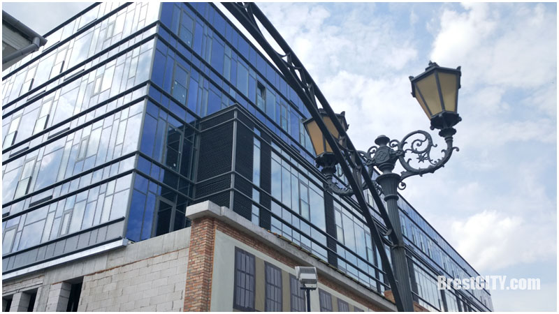 Гостиничный комплекс променада в Бресте