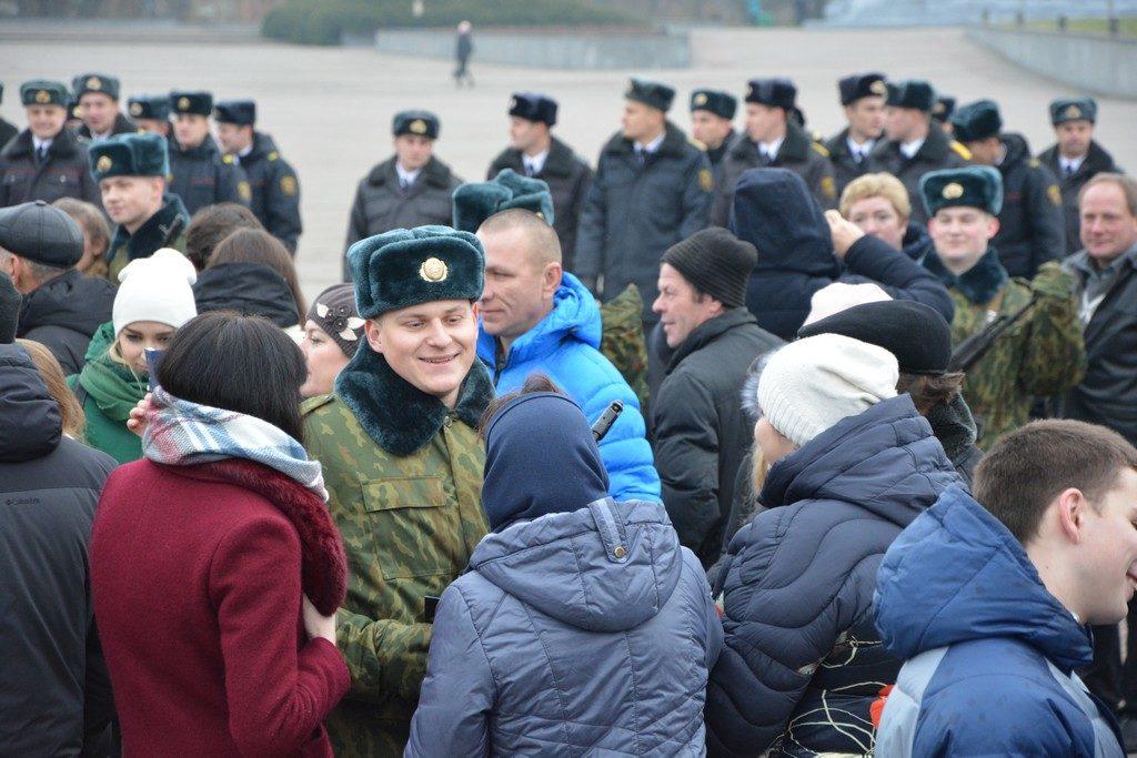 Присяга в Брестской крепости