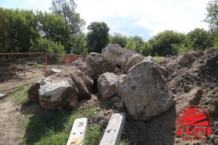 Раскопки в Брестской крепости