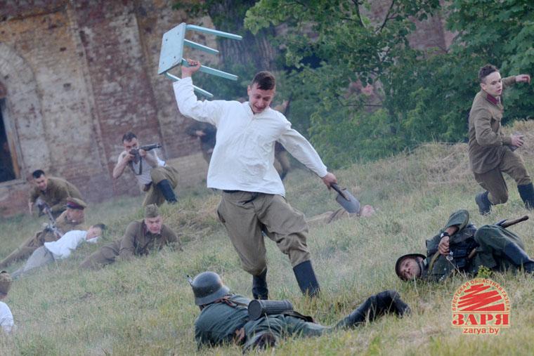 Реконструкция обороны Брестской крепости 22 июня 2017