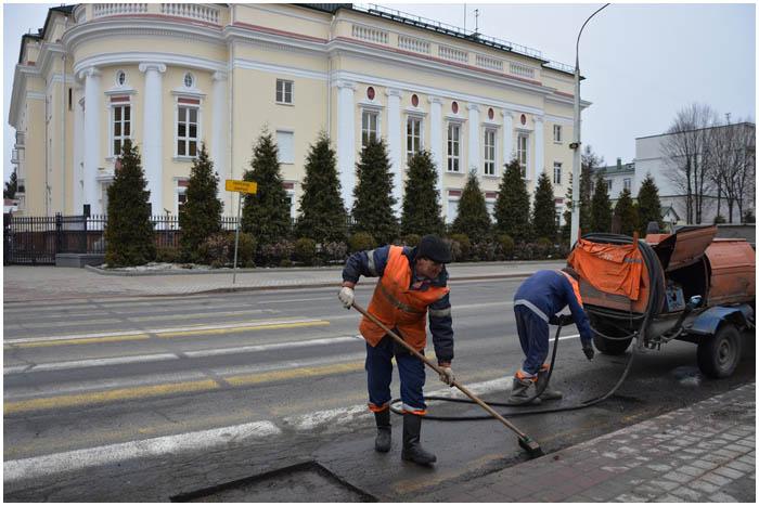 Ямочный ремонт дорог в Бресте