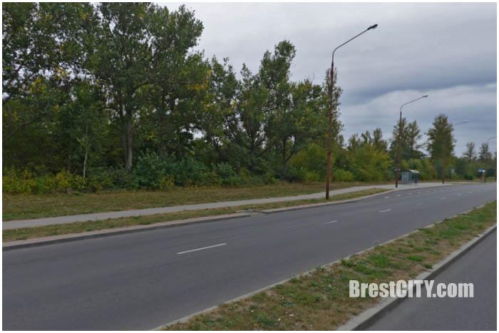 Улица Лейтенанта Рябцева в Бресте