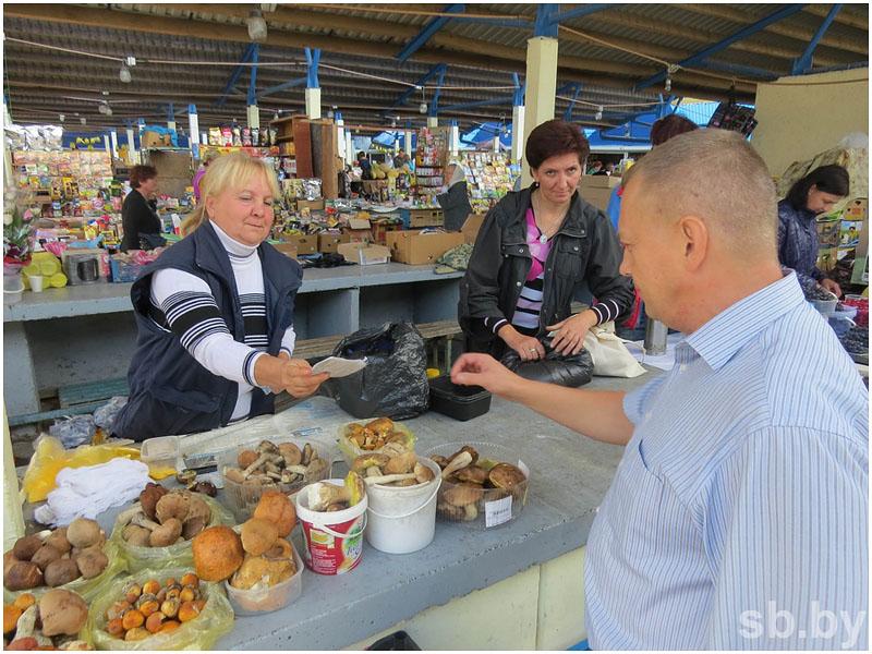 Рынок в Бресте