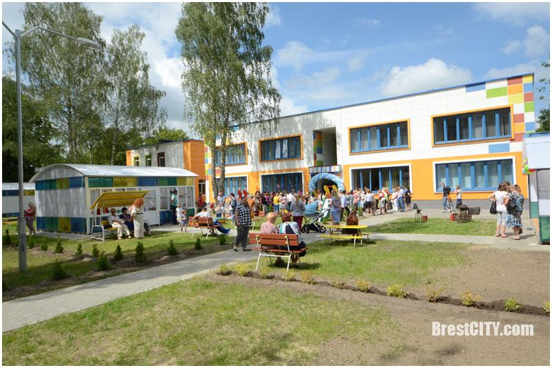 Детский сад №36 на Дубровке в Бресте. Открытие