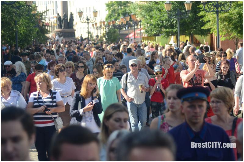 Последний мирный день в Бресте 21 июня 2017. Фото BrestCITY.com