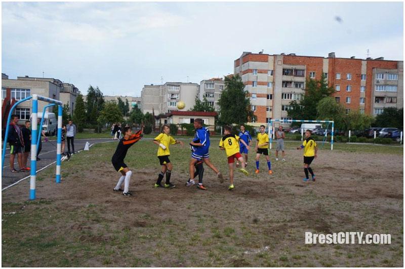 Летняя спартакиада в Ленинском районе Бреста