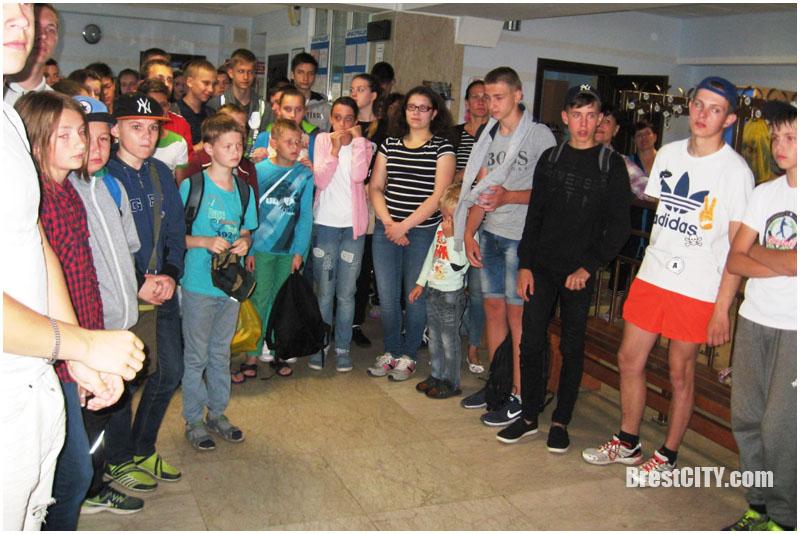 Спартакиада по плаванию в Бресте