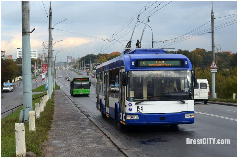 Расписание движения троллейбусов