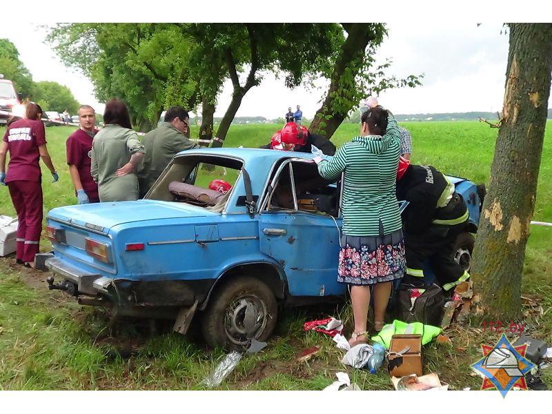 Авария возле деревни страдечь 23 июня 2017