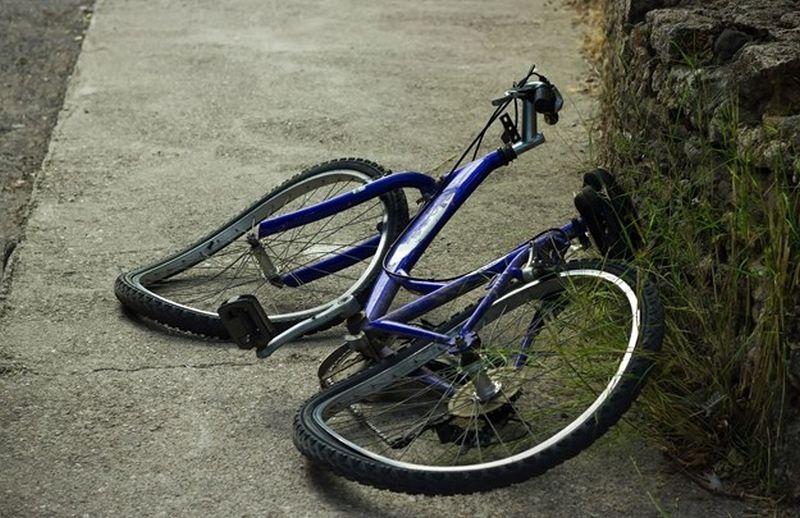 Авария. Велосипед