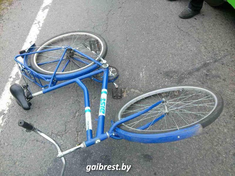 Велосипедист. Авария. Автобус