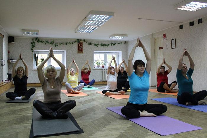 Фестиваль йоги в Бресте