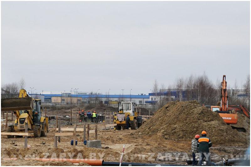 Строительство аккумуляторного завода