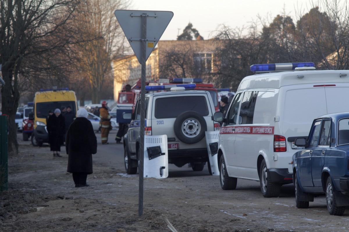 Штурм дома в Барановичах