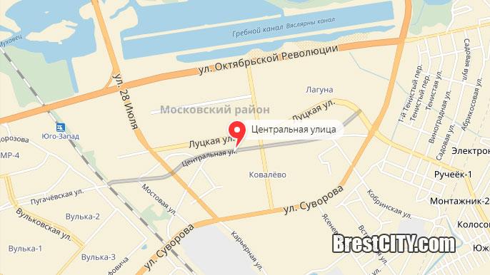 Улицы в Бресте