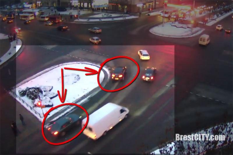 Авария в Бресте 22 января