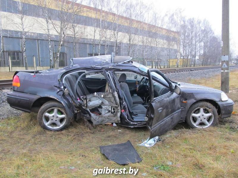 Авария в Белоозерске