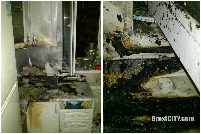 Пожар на Набережной 17 января