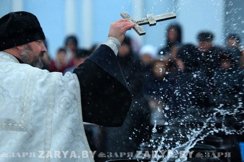 Крещение на Гребном в Бресте 2018