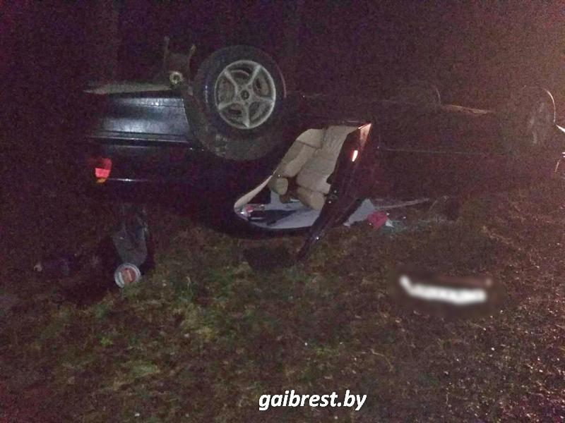 Авария в Пружанском районе 5 января 2017