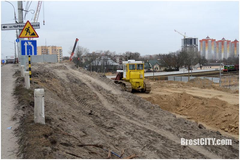 Реконструкция Кобринского моста