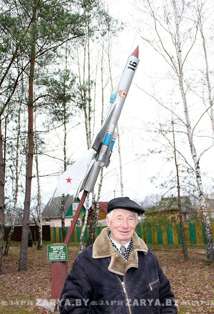 Ракеты у пинского пенсионера