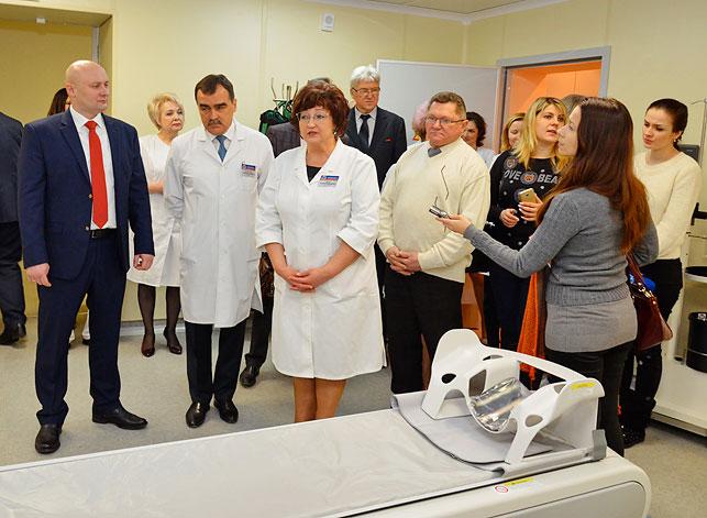 Компьютерный томограф. Областная больница
