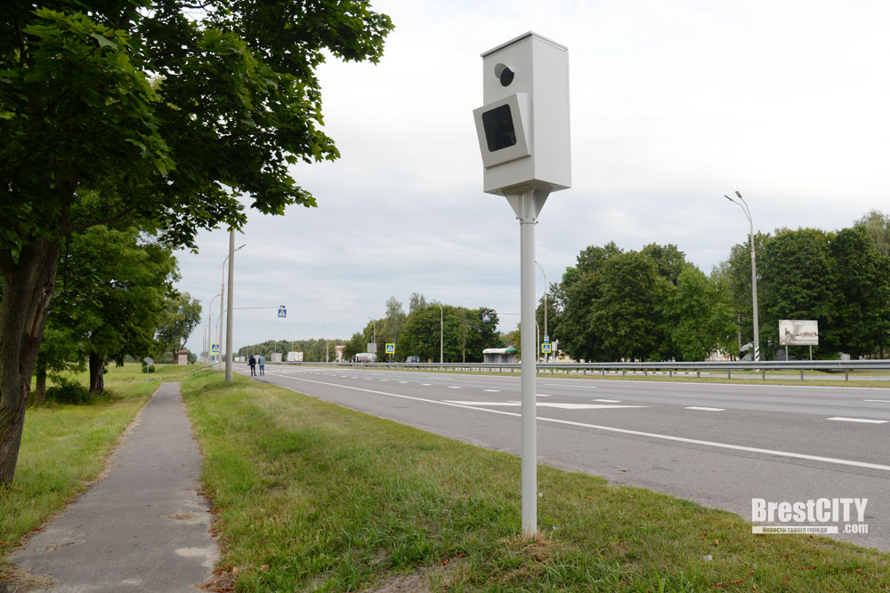 Новые стационарные камеры фотофиксации скорости появились возле Бреста