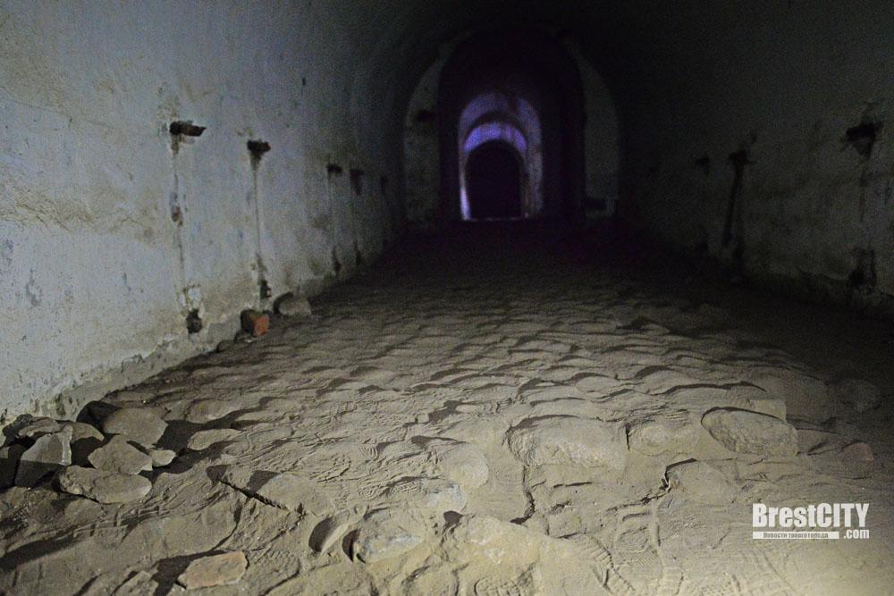 Подземные ходы откроют для туристов Брестской крепости.