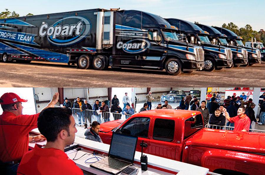 автомобильные аукционы сша Copart и IAAI