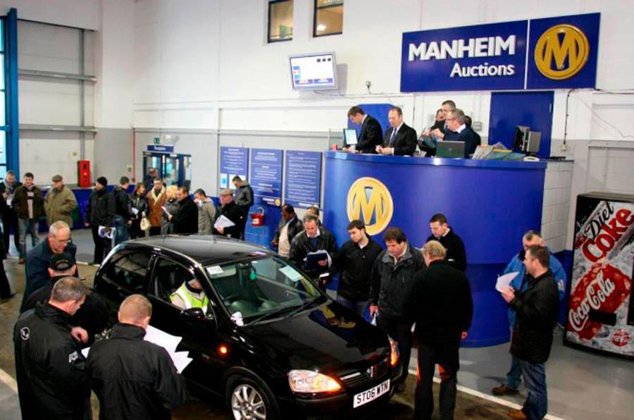 аукцион автомобилей Manheim