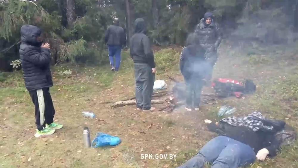 На границе Польши и Беларуси обнаружена мертвая женщина-иностранка